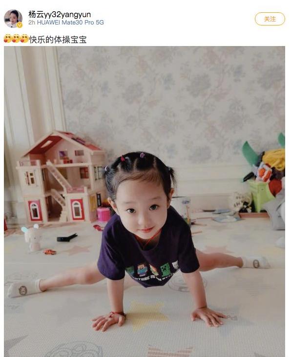 杨云微博截图