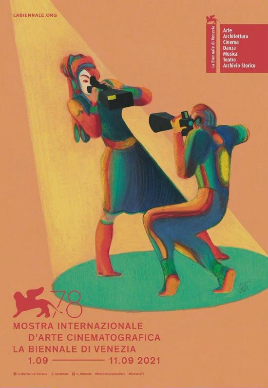 威尼斯电影节主视觉海报