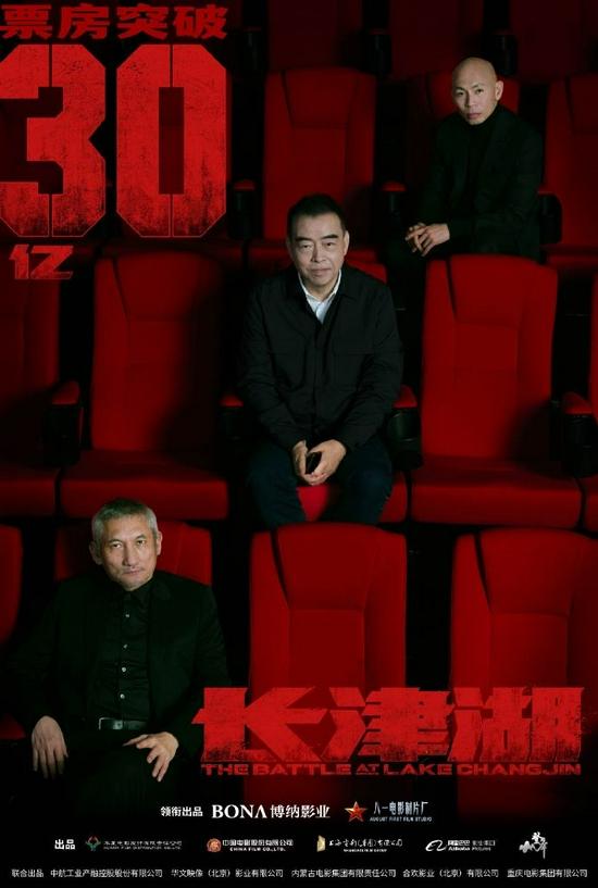 《长津湖》总票房超30亿 单日票房破5亿持续逆跌