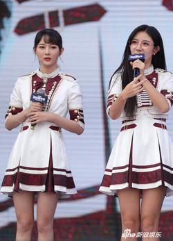 SNH48亮相粉丝嘉年华