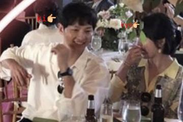 宋慧乔夫妇美国参加友人婚礼