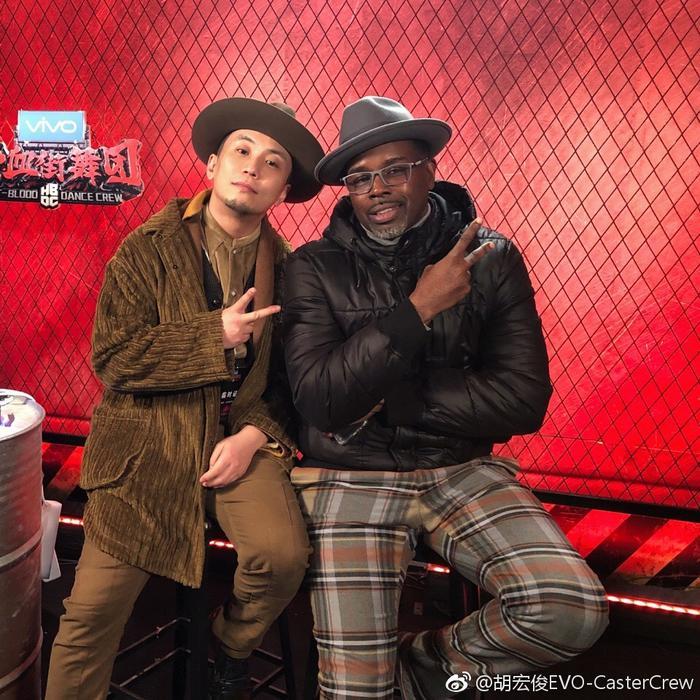 胡宏俊(左)(图片来自个人微博)