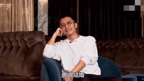 采访被问未来婚姻生活计划 谢霆锋:我不会结婚