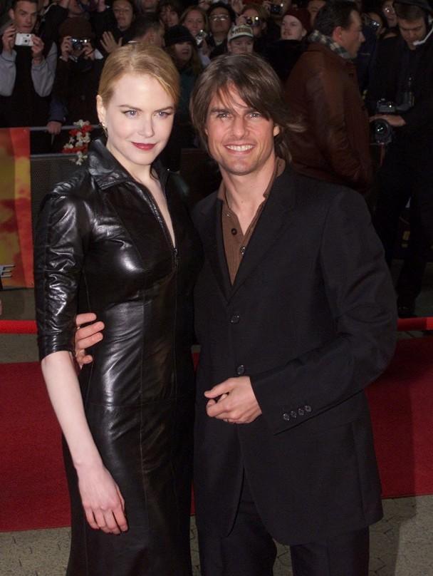 汤姆克鲁斯与前妻妮可基德曼。