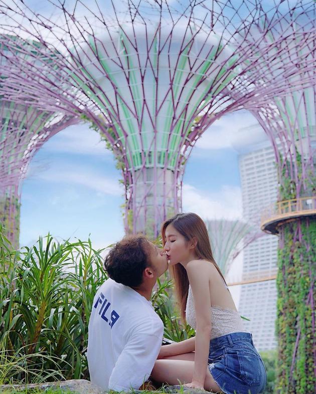 楊政龍與女友