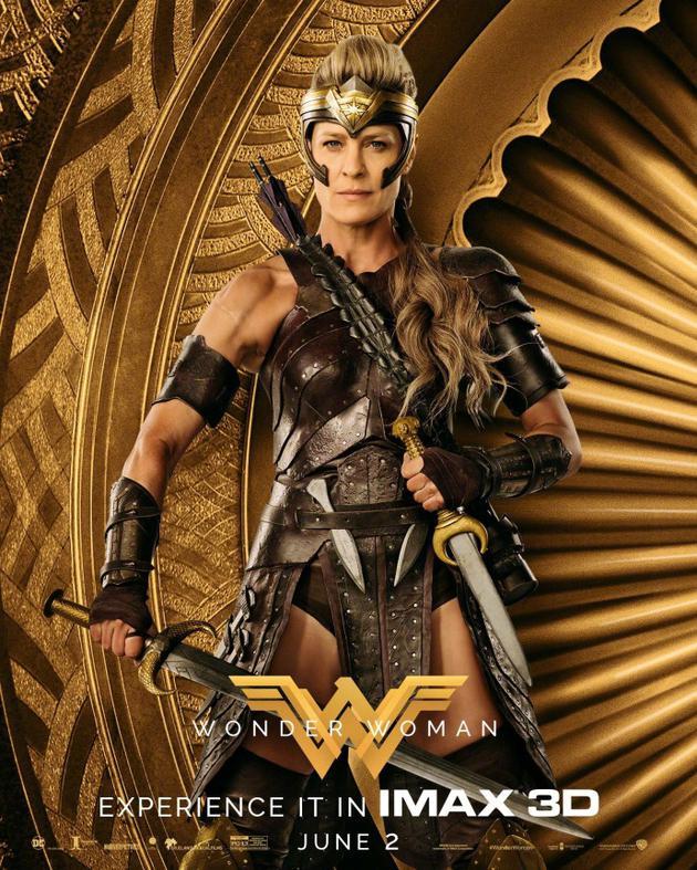 罗宾·怀特确认参演《神奇女侠2》拍摄闪回戏份
