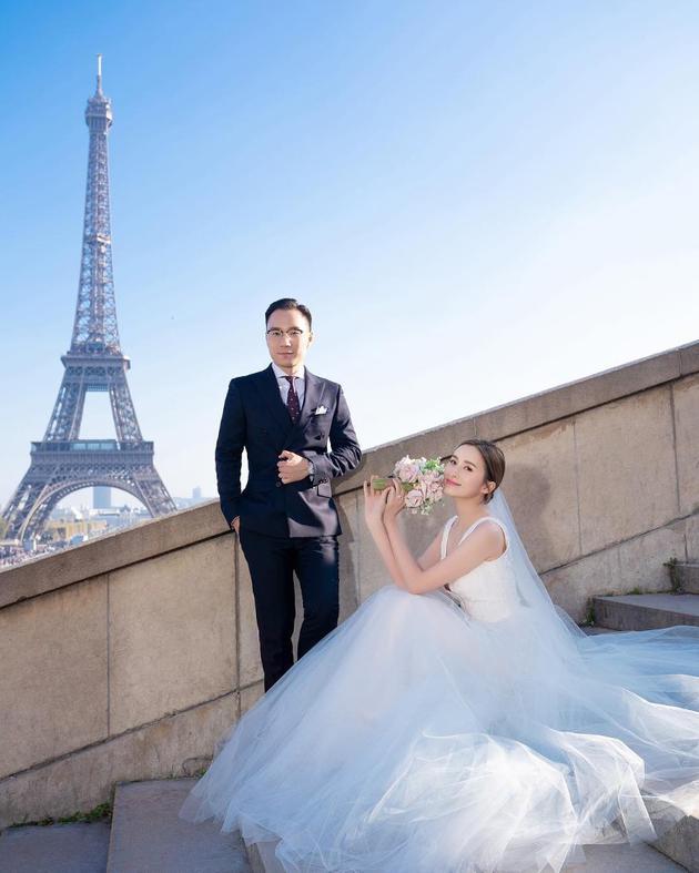 沈卓盈宣布结婚