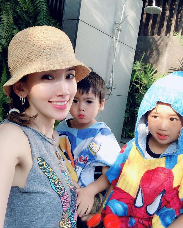 林志穎老婆陳若儀與寶貝兒子