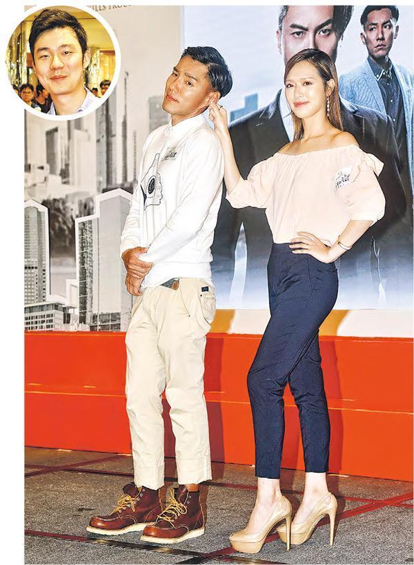 馮盈盈(右)張穎康(左)