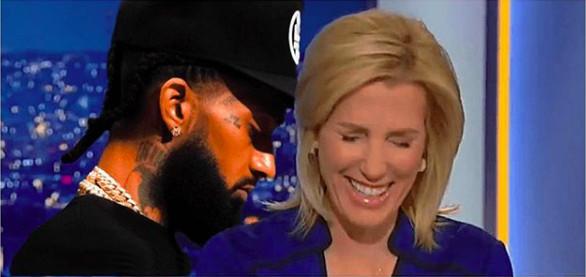 大衆新聞網主持人Laura Ingraham報導Nipsey死訊時笑了,讓比伯大怒