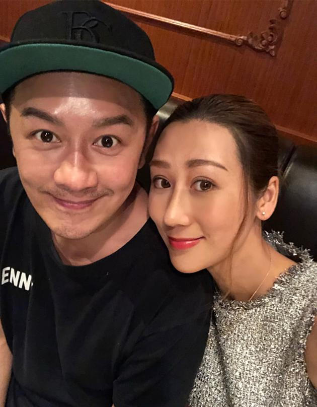 陳浩宇與蔣麗莎甜蜜同框