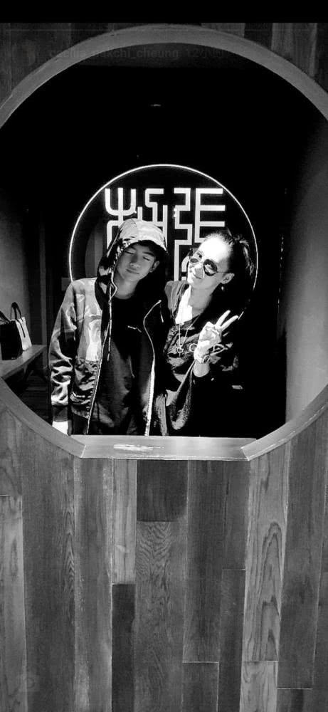 张柏芝与Lucas