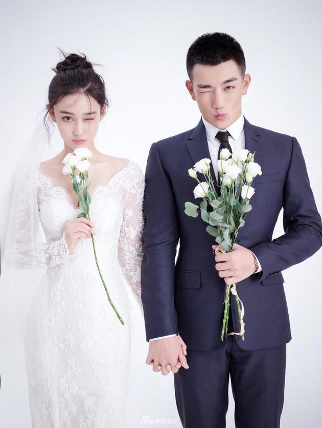 张馨予何捷结婚照