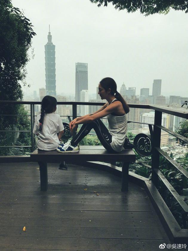 吴速玲与女儿Grace