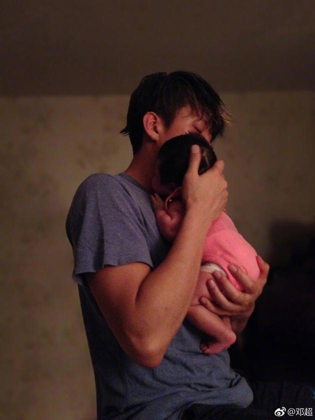 邓超与女儿