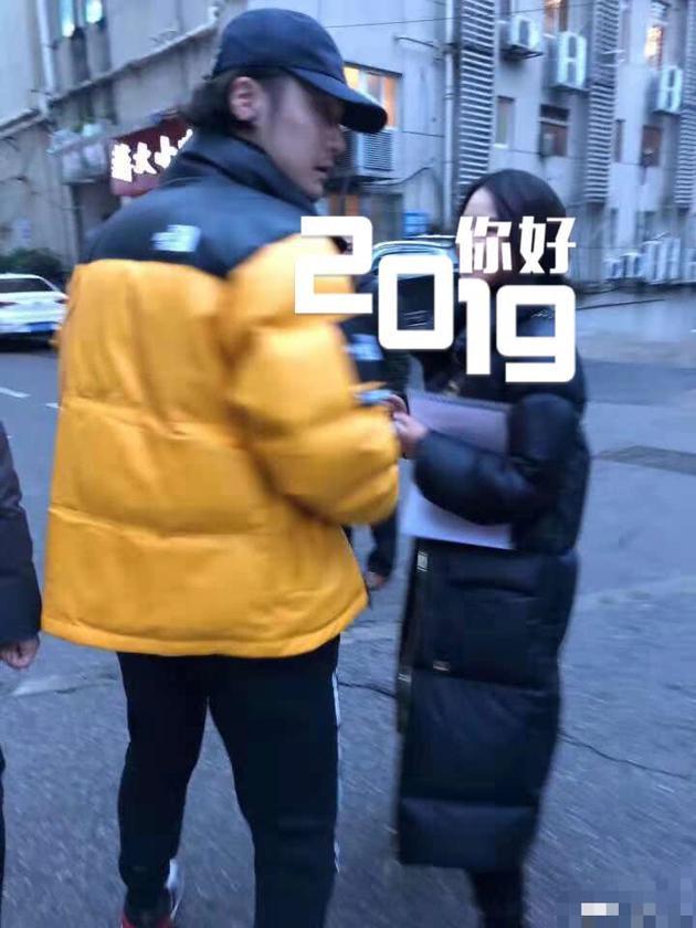 网友偶遇蒋劲夫