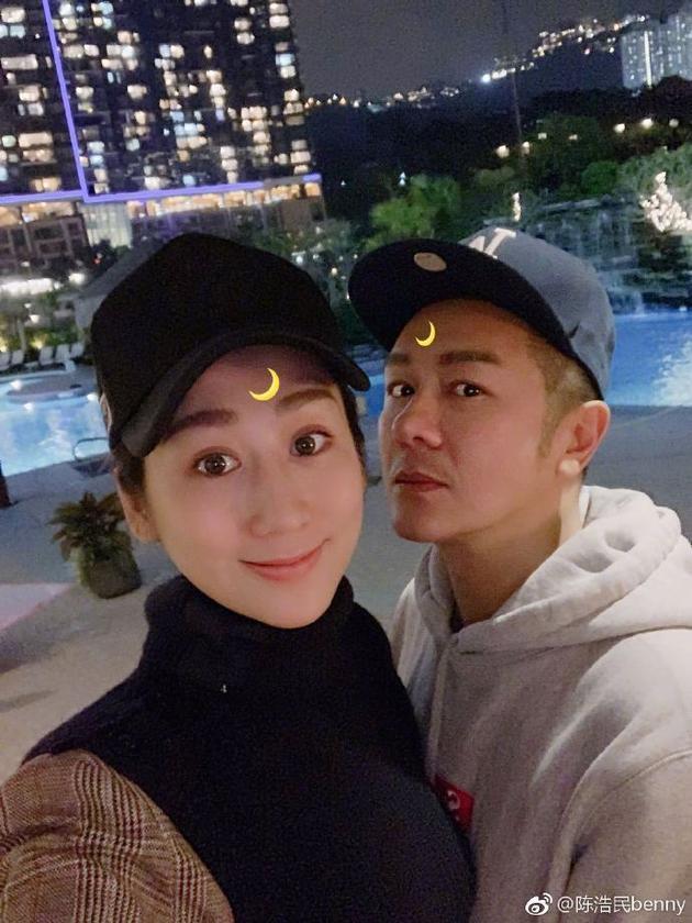 陳浩民與老婆