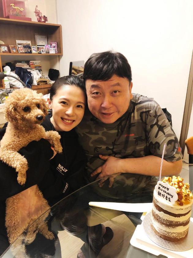 王子涵和父亲王晶