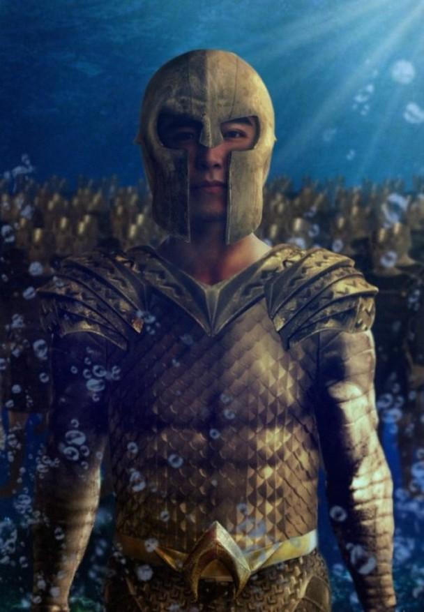林路迪曾參演DC超級英雄電影《水行俠》