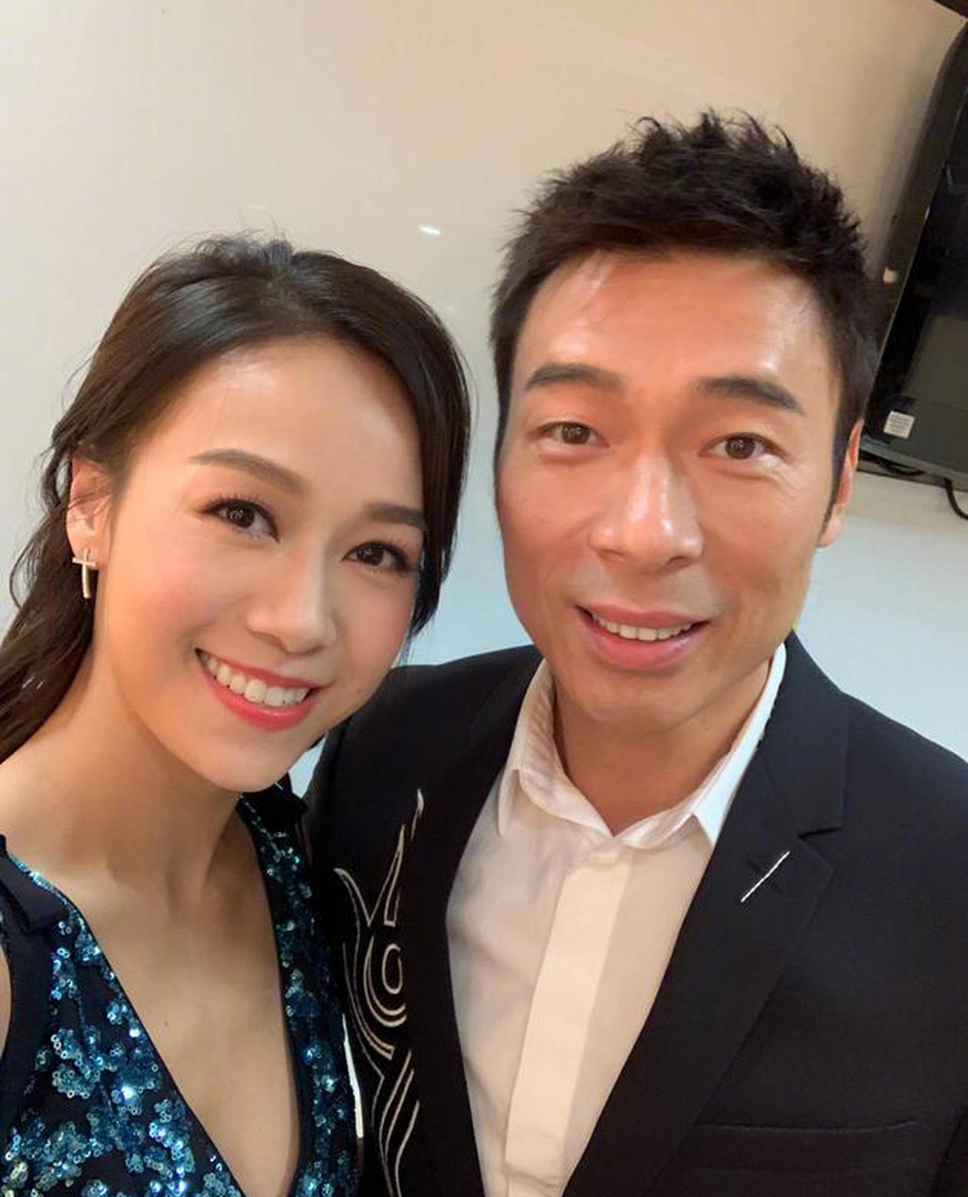 港媒16日曝出許志安與黃心穎於車內的一段親密視頻。