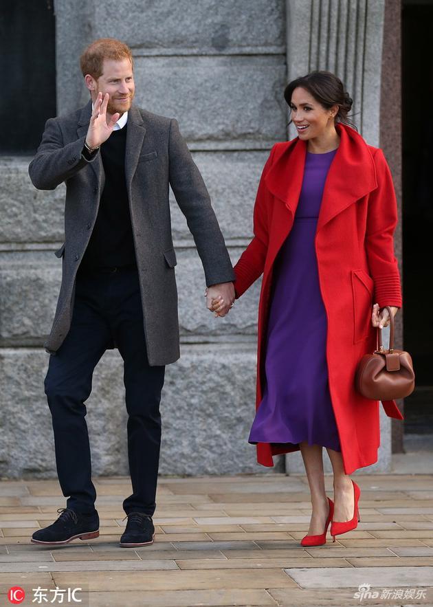 哈里王子与梅根王妃