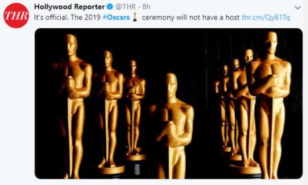 奧斯卡獎沒有主持人