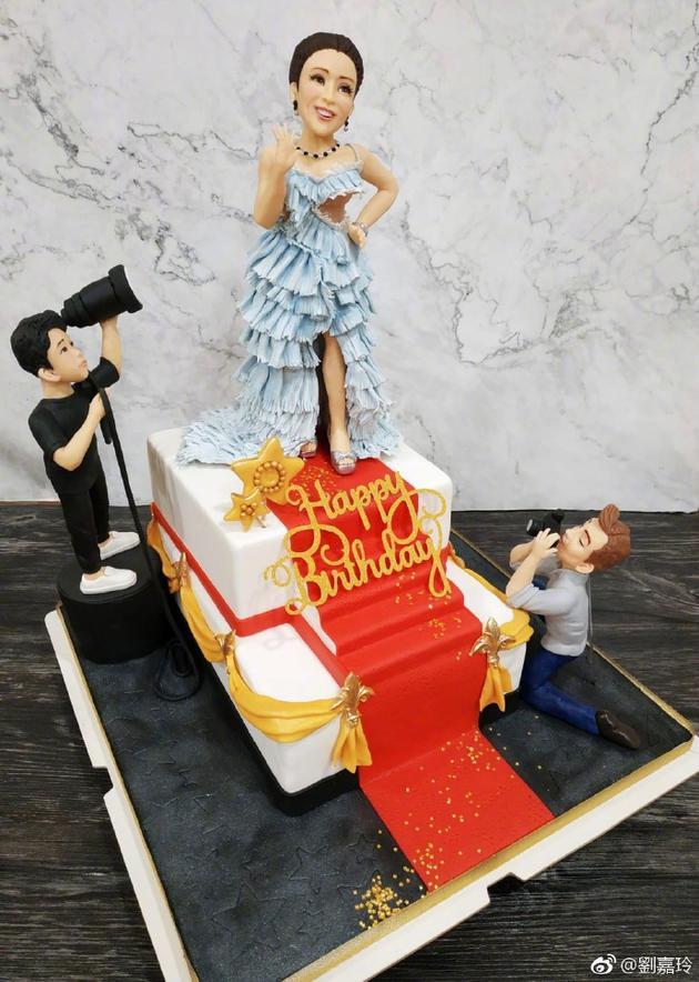 红毯造型蛋糕