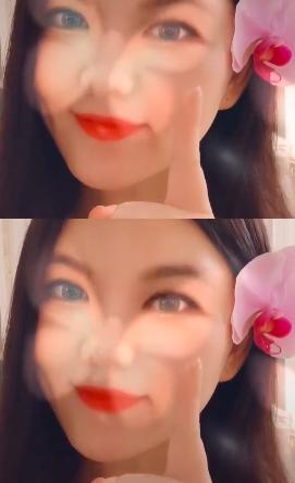 李湘滤镜下头别鲜花变甜美歌姬 跟原唱完美对嘴型
