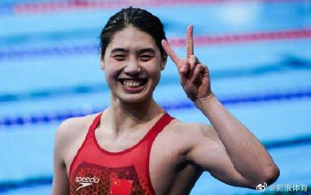 张雨霏200米蝶泳夺金并破纪录 张雨绮傅园慧发文祝贺