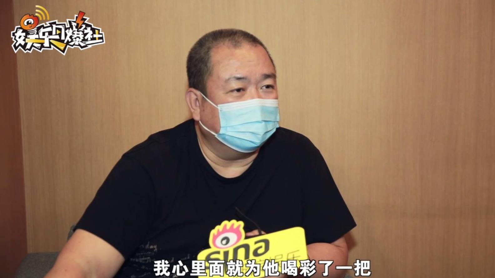 劉江拍抗疫劇請疾控中心全程指導 為黃景瑜表演細節喝彩