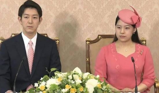 日本绚子公主婚礼定于10月29日的图片