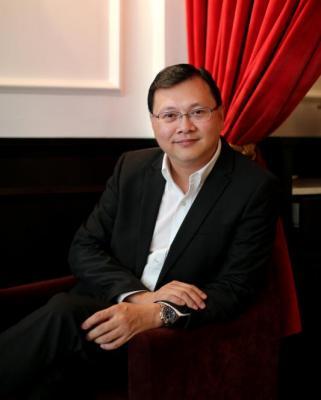 曾任亚洲电视大奖主席的黄永源。