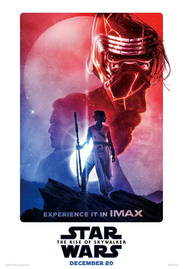 《星球大戰:天行者崛起》IMAX海報