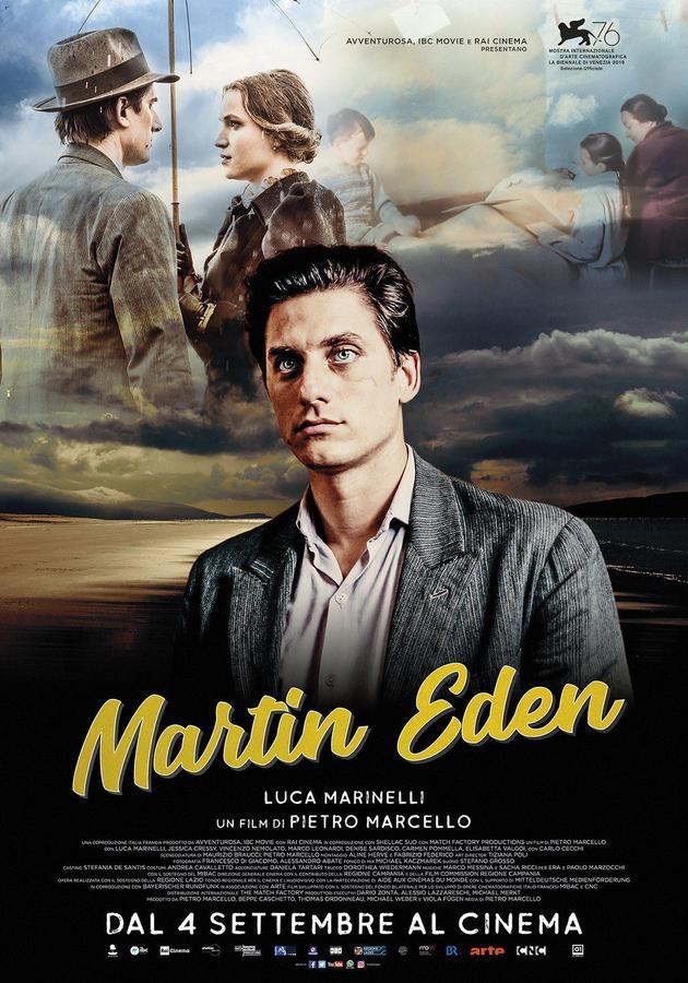 《馬丁·伊登》海報