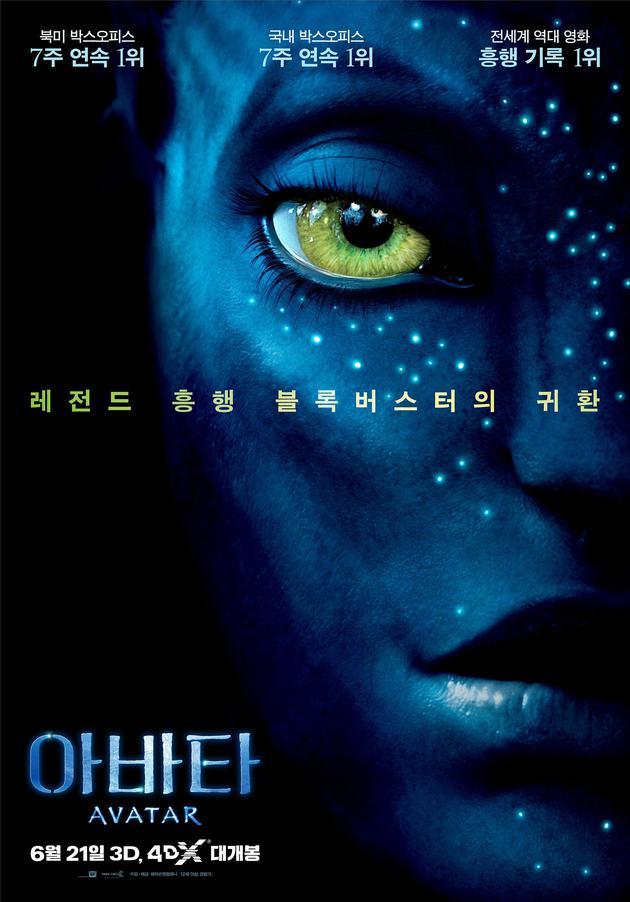 韩影票房:《阿凡达》闪现回榜