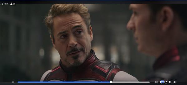 钢铁侠给了美队一个肯定的眼神