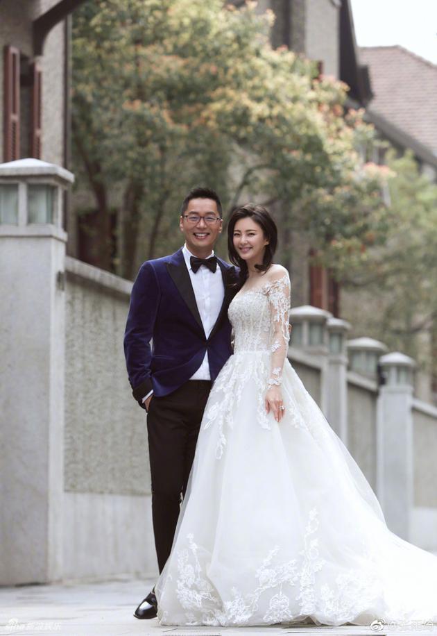 张雨绮与第二任前夫袁巴元
