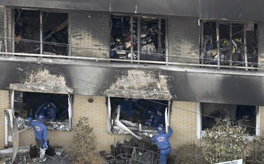 京都动画纵火嫌疑人包藏多把菜刀 企图大规模杀伤