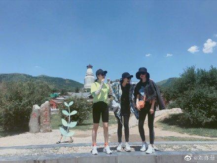 刘亦菲与友人畅游心情大好 怀抱小猫少女感爆棚