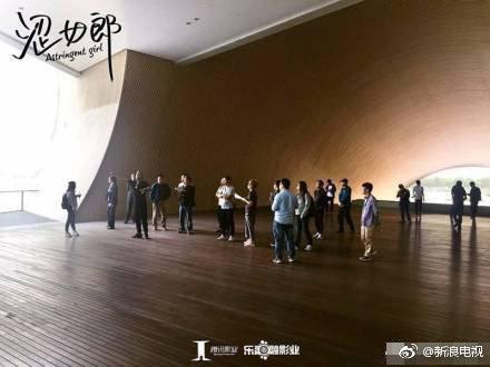 翻拍劇版《澀女郎》由騰訊影業、樂融融影業出品