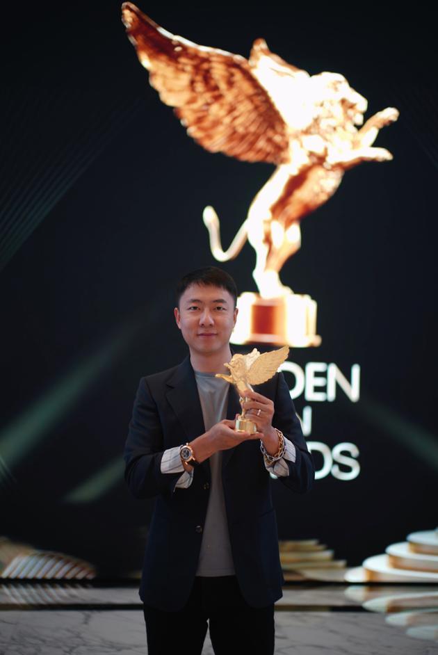 王羽成获金狮国际广告最佳导演银奖