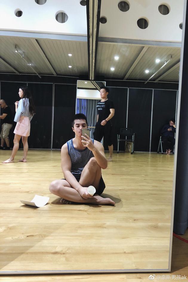 陈咏开男友自拍
