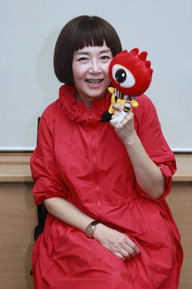 恬妞在台北对话新浪娱乐