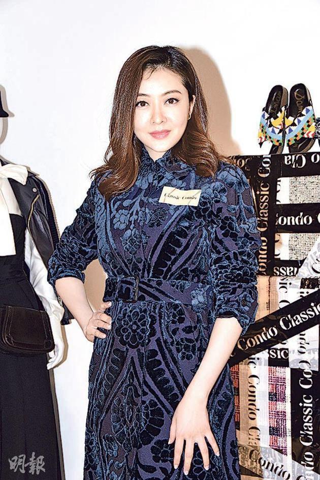 熊黛林在香港出席活动
