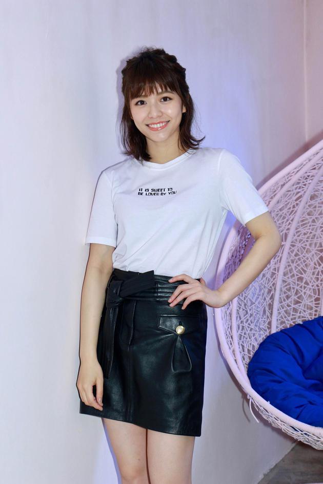 宋芸桦宣传新片《我的青春都是你》