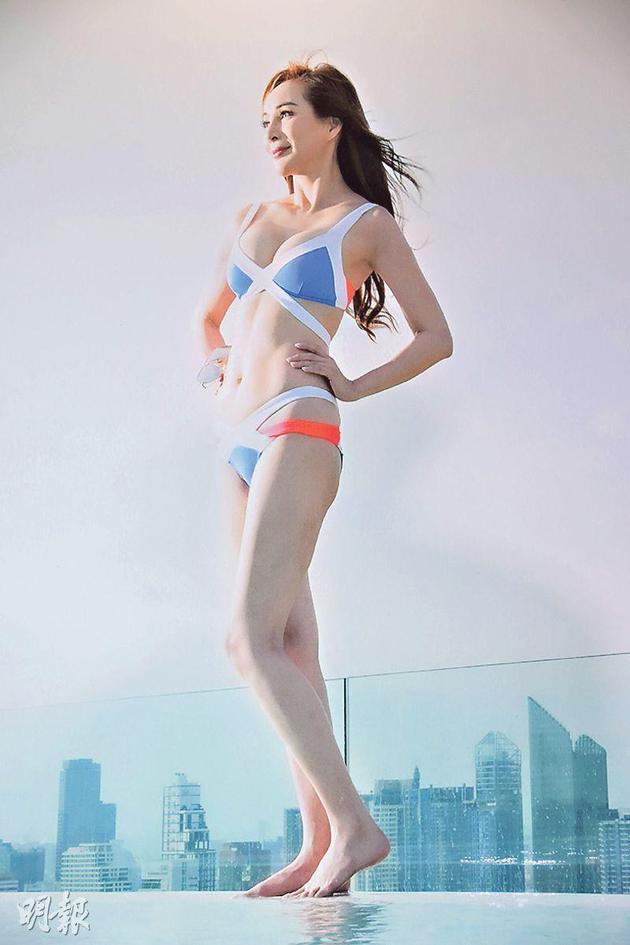 53岁美魔女罗霖宣布不再拍泳照:我自己也看够了