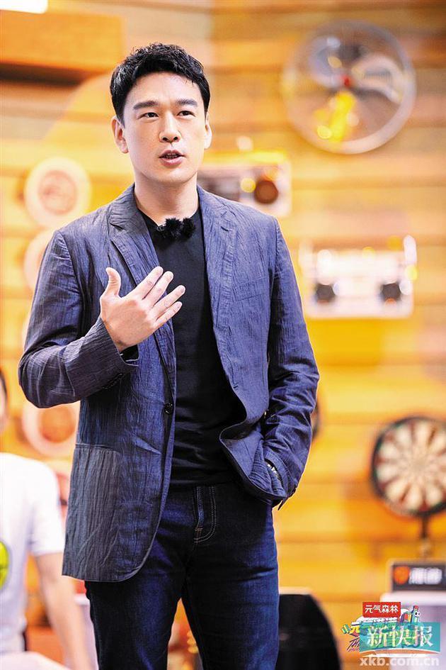 """""""霸道总裁""""王耀庆转战综艺:我是个另类的高富帅"""