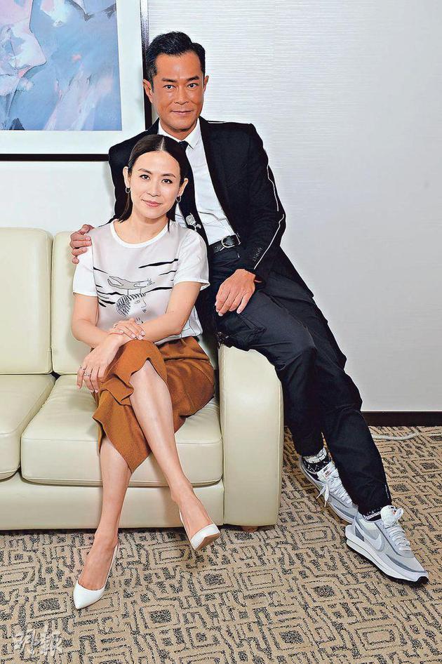 宣萱和古天乐相隔十多年再次合作。