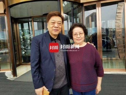 2018年在浙江臺州,封面新聞記者為趙忠祥和夫人張美珠,拍攝的恩愛珍貴照片