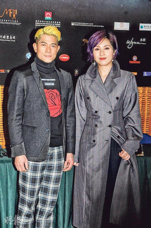 郭富城与杨千嬅在新片《麦路人》有情感线。